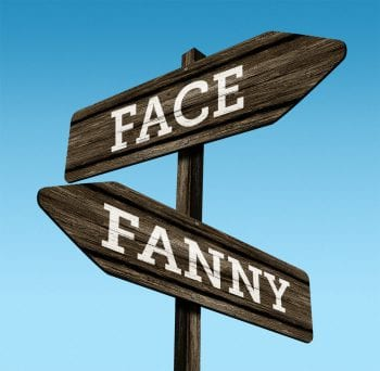 Learn why women in San Francisco don't have to choose between their fanny or their face any longer.