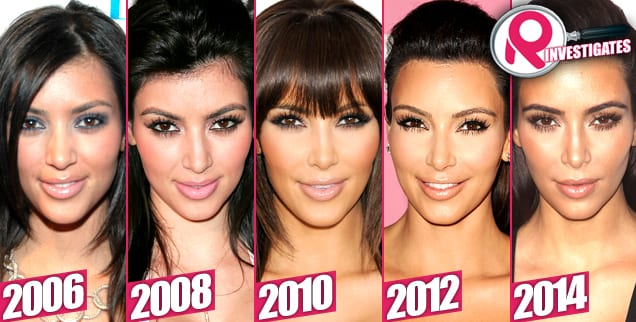Kim Kardashian Before After