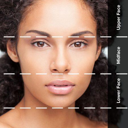 liquid facelift facial zones
