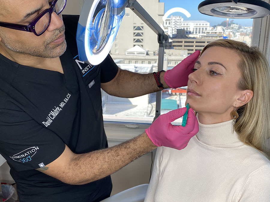 Procedure: Dr. Mabrie or his associate, Kimberly, will perform your filler procedure.
