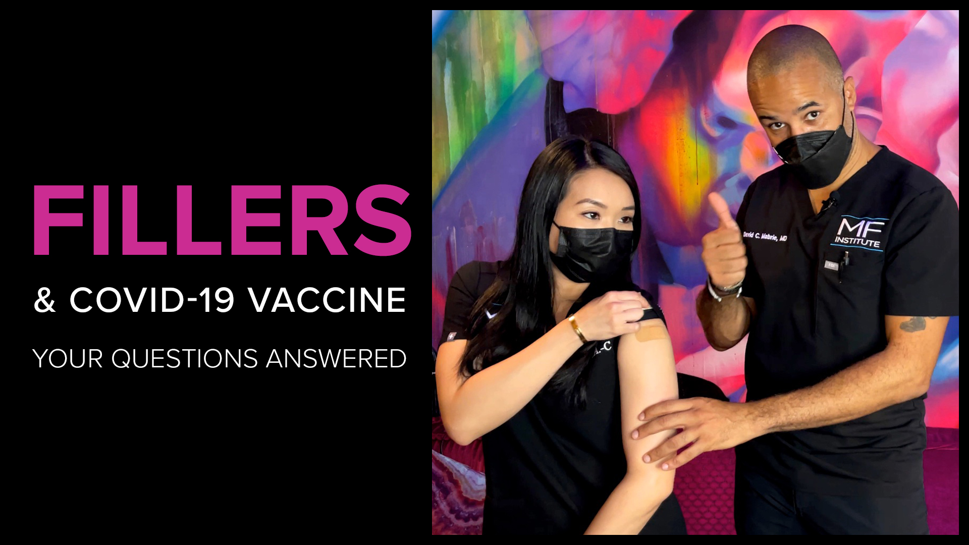 Answers to your questions about the Moderna Covid vaccine and dermal fillers.