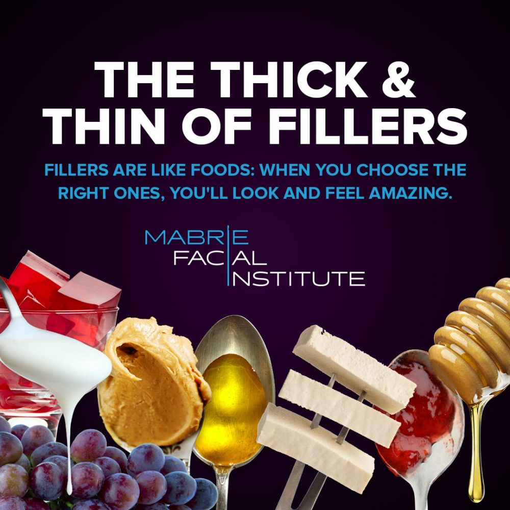 The thick and thin of fillers